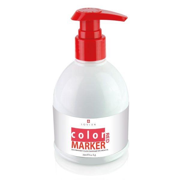 Balsamo colorante color marker rosso Lovien