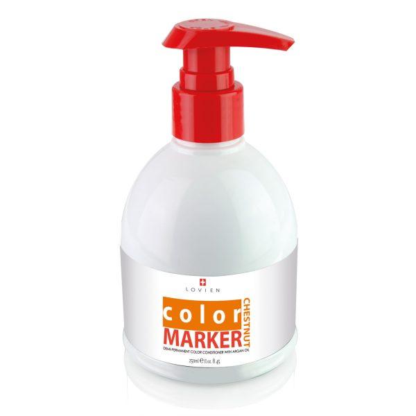 Balsamo colorante color marker chestnut castano Lovien
