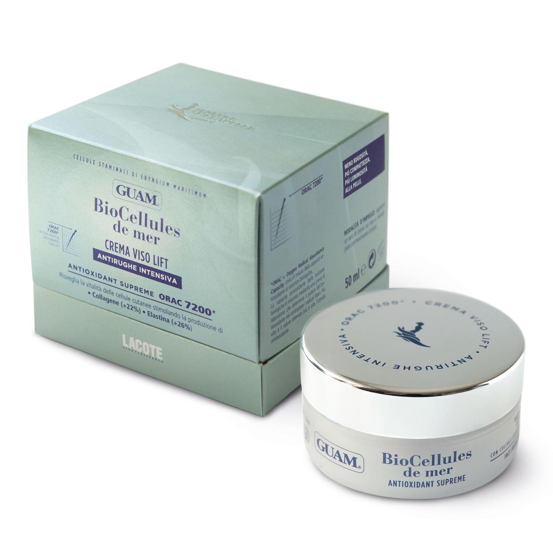 Crema viso lift antirughe Biocellules de mer Guam