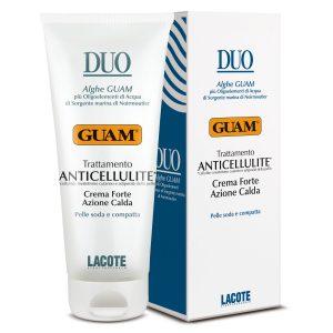 Crema anticellulite azione calda Duo Guam