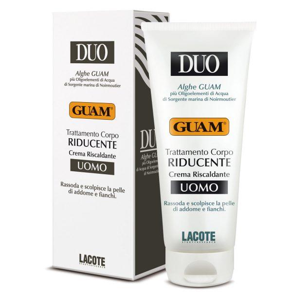 Crema riducente uomo Duo Guam