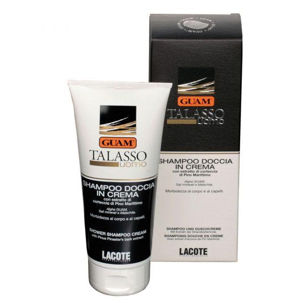 Shampoo doccia in crema Talasso Uomo Guam