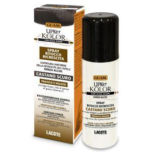 Spray ritocco ricrescita castano scuro UPKer Kolor Guam