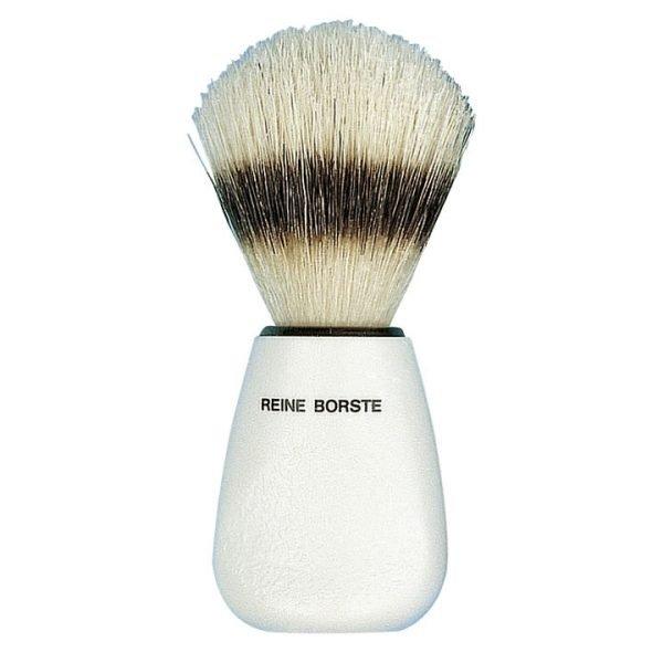 Pennello da barba setola cinghiale bianco