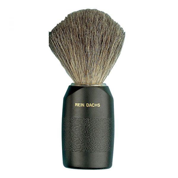 Pennello da barba setola in puro tasso nero